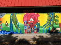 We Are The River mural - center - photo courtesy of Olivia Levins Holden