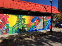 We Are The River mural - right side - photo courtesy of Olivia Levins Holden