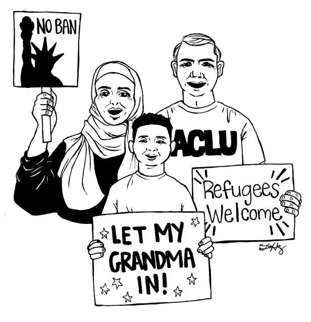 ACLU- muslim ban - online